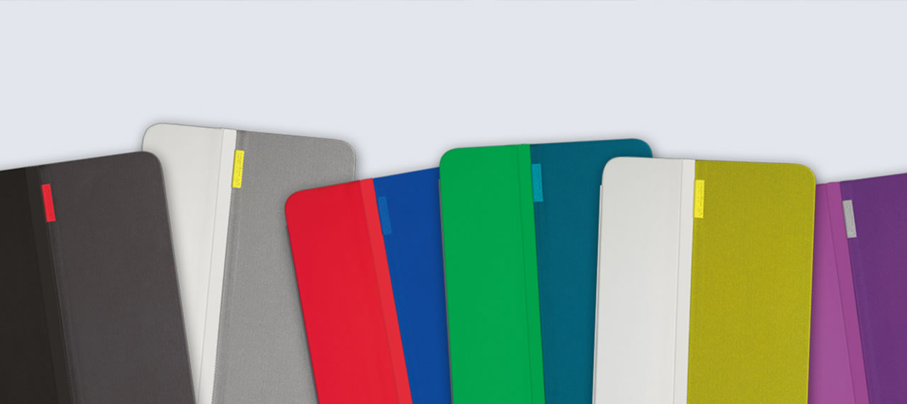 Logitech AnyAngle iPad case colors