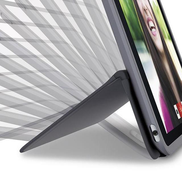 Logitech AnyAngle iPad case hinge positions