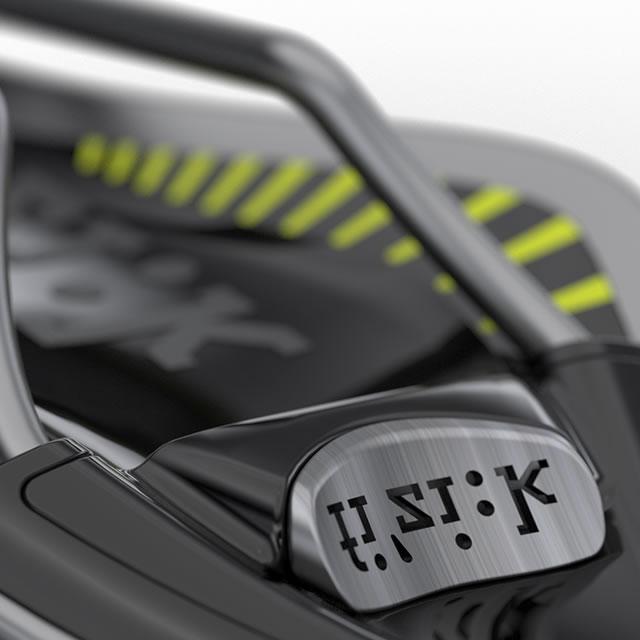 fi'zi:k arione bike seat ics badge with logo