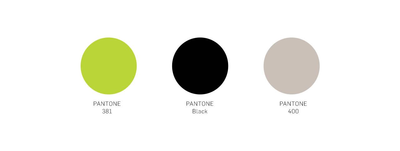 The Chocolate Garage brand identity colors