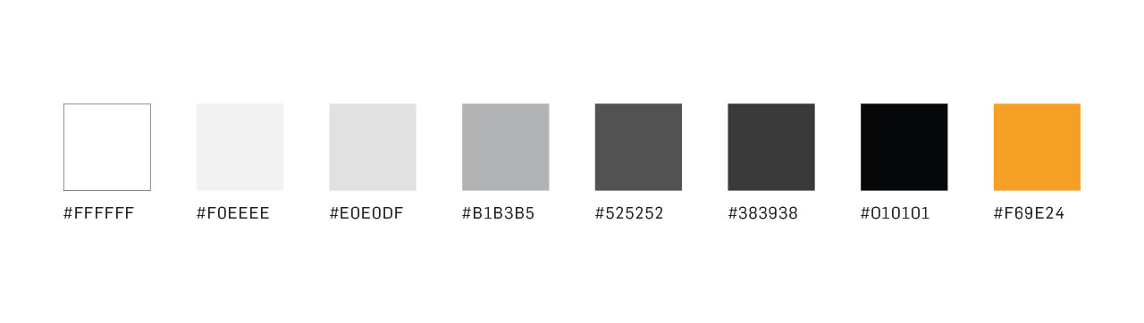 Trufa cloud app colors