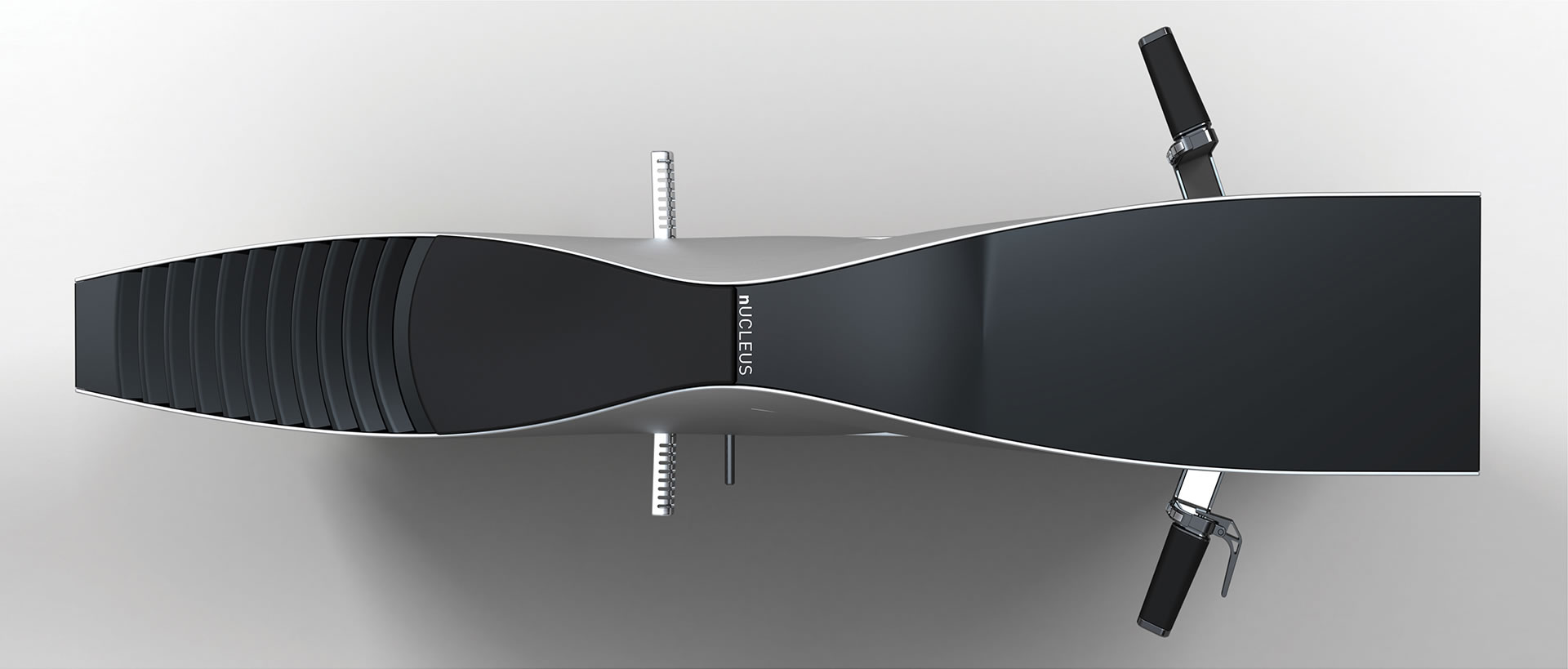 Nucleus electric motorcycle top view