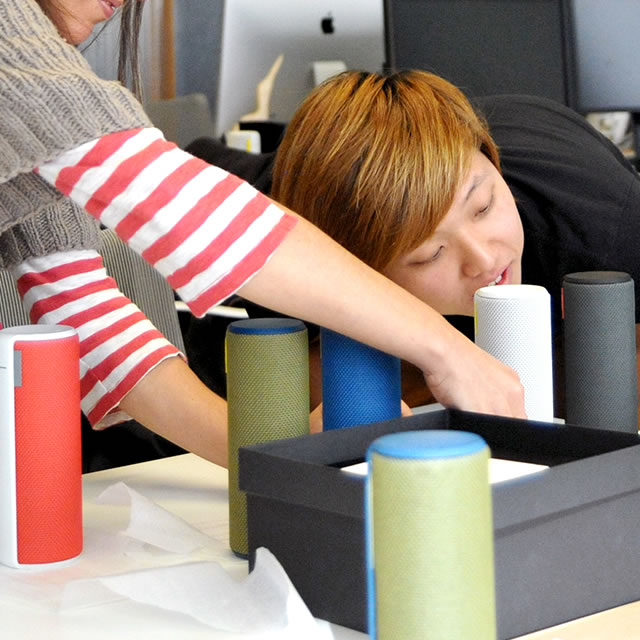 UE Boom portable speaker model design review