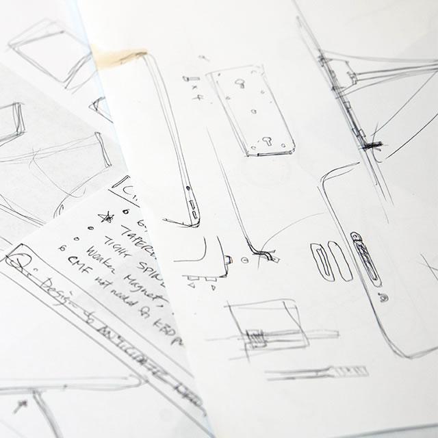 Control4 T3 tablet design sketches