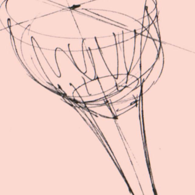 Soraa MR16 LED lamp design sketch