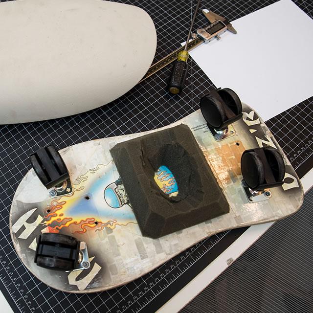 Webble active footrest prototype