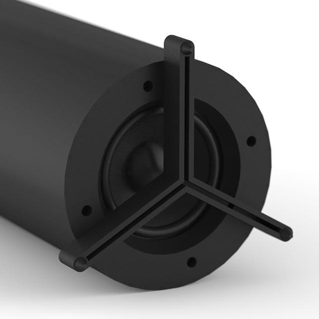 Logitech Z553 gaming speaker legs