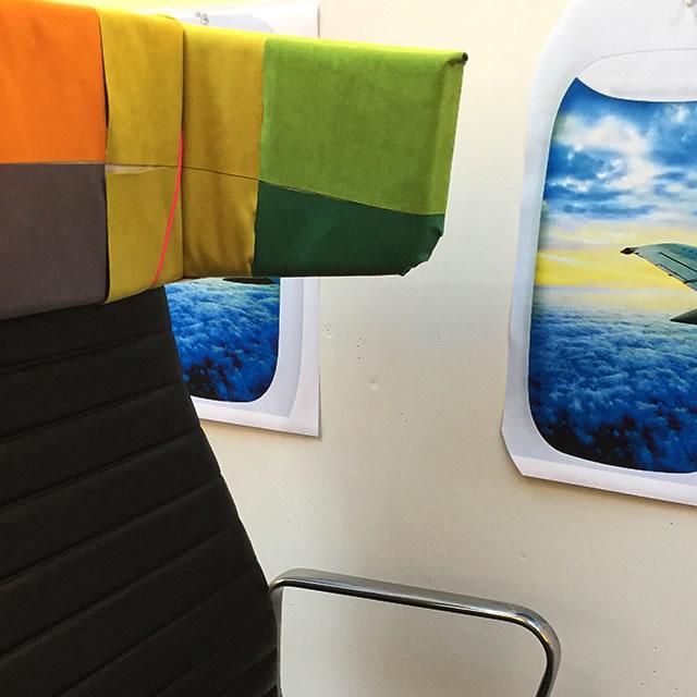 AirCom Pacific airplane seat prototype