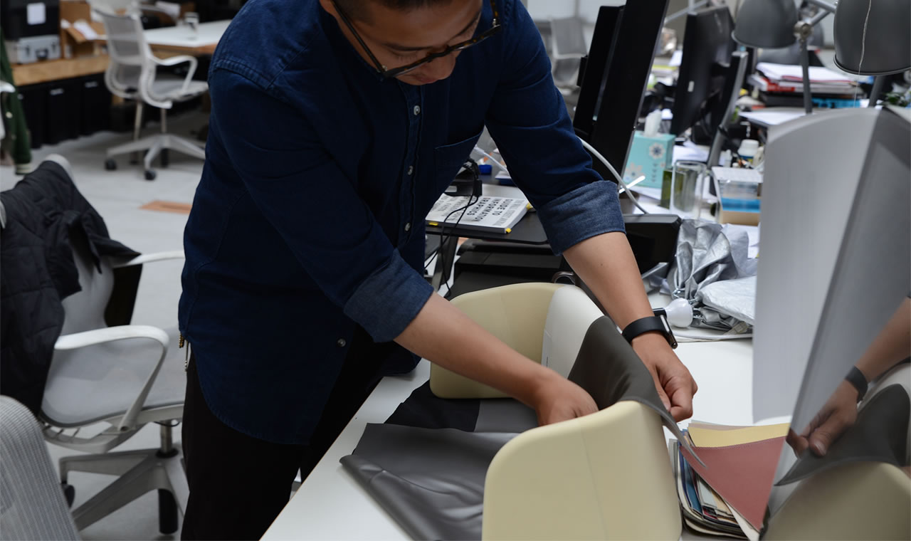 AirCom Pacific airplane seats materiality
