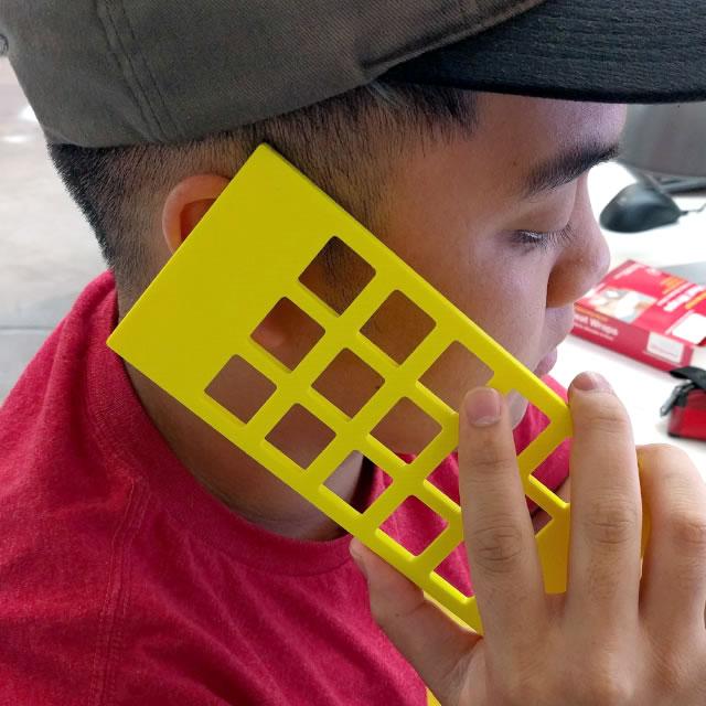 Tarati phone yellow prototype