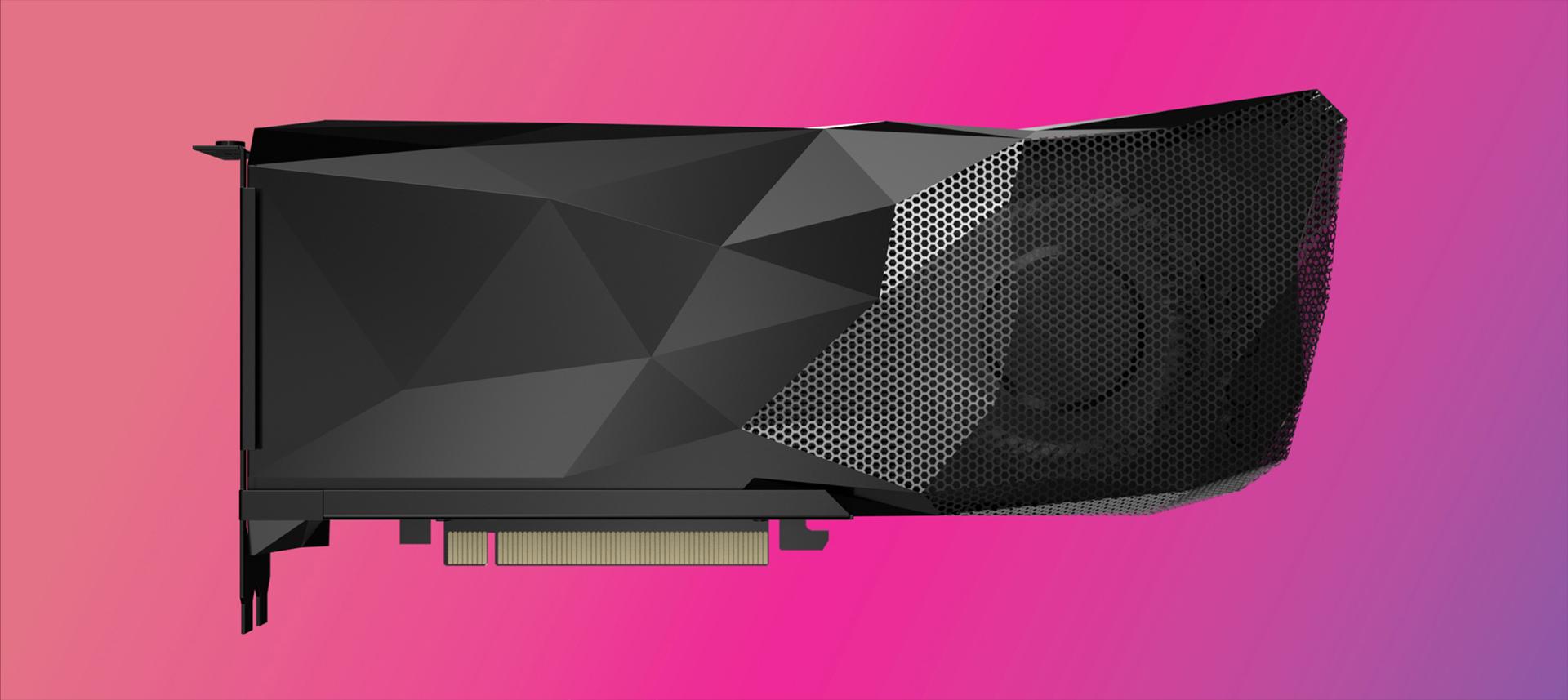 VISION Alpha GPU on pink